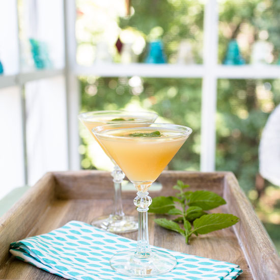 Apple Elderflower Martini