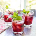 Blackberry Cocktails #CookingLight | Grey is the New Black