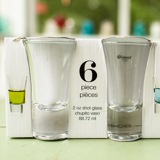 Circleware Shot Glasses | Friday Finds