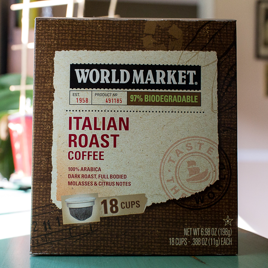 world market italian roast coffee cups friday find grey is the new black. Black Bedroom Furniture Sets. Home Design Ideas
