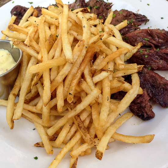 Steak Frites from 1885 Grill | Grey is the New Black