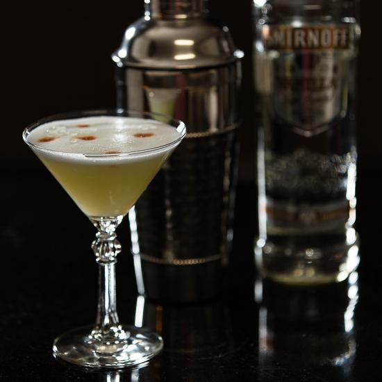 Vanilla Vodka Sour