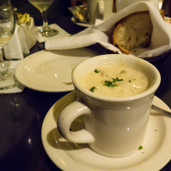 Brophy Brothers Clam Chowder