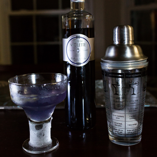 Violette Prosecco Cocktail