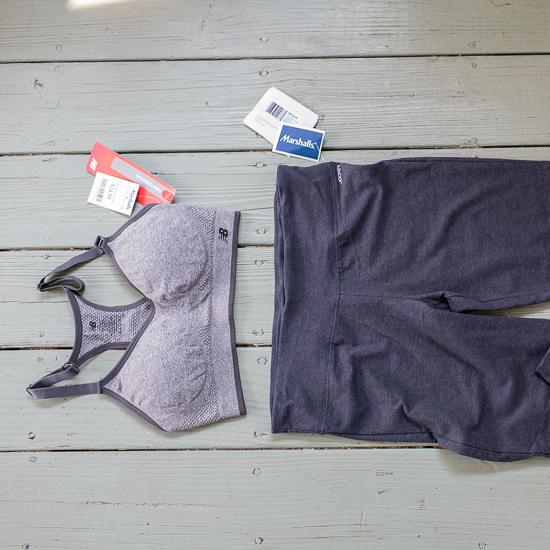 #FabFound exercise clothes