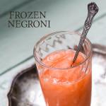 Frozen Negroni
