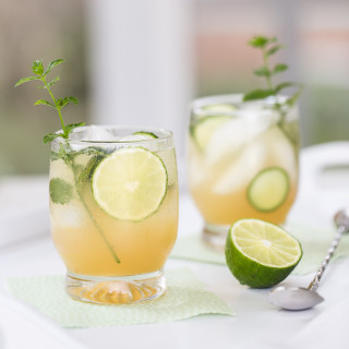 Mint, Cucumber, and Lime Crush