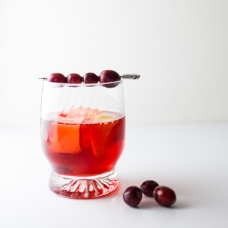 Cranberry Negroni | Tipsy Tuesday