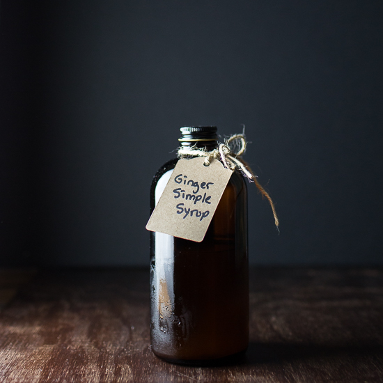 Ginger Simple Syrup | Tipsy Tuesday