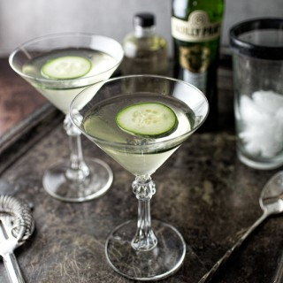 Spicy Cucumber Martini | Tipsy Tuesday