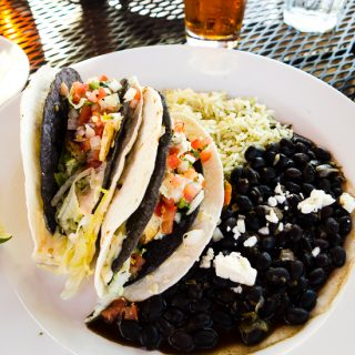 Tacos from Big River Grille