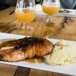 Monkey Town Brewing Salmon