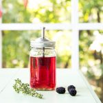 Blackberry Thyme Infused Vodka