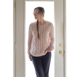 Sonoma Pink Sweater