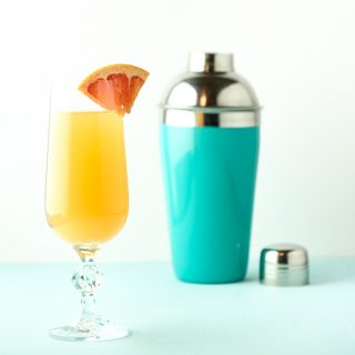 Tangy Grapefruit Mimosa
