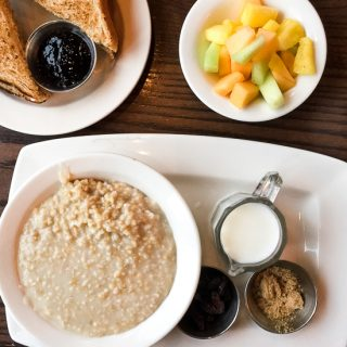 Steel cut oats at The Wayfarer.