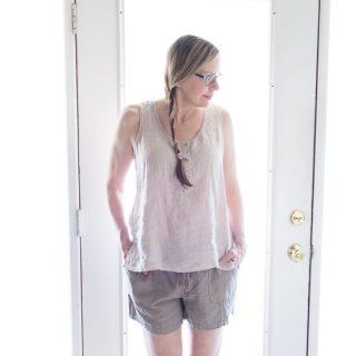 Summer Living in Linen