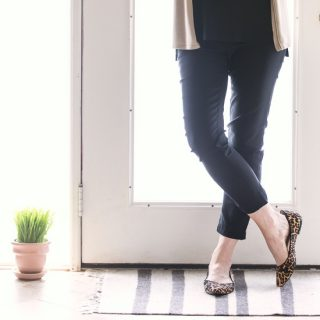 Transitioning to leopard flats